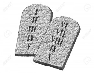 5909930-The-Ten-Commandments-of-Moses-written-on-stone-tablets-Stock-Photo