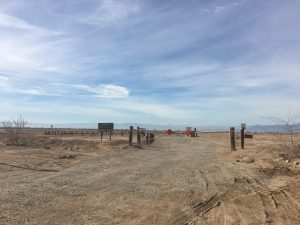 Bombay Beach was Closed